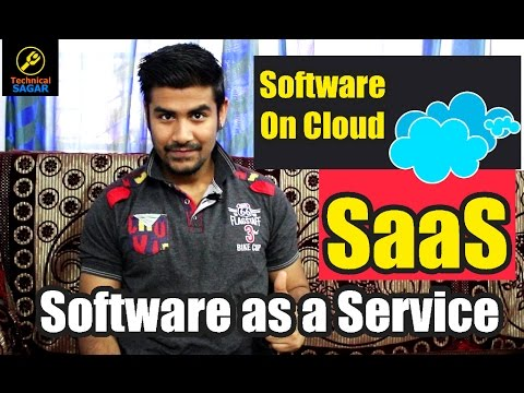 Software as a Service [SaaS] | Software On Cloud | Explained in Hindi