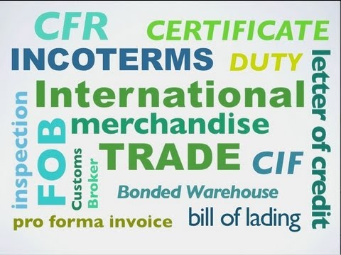VV 32 - English Vocabulary for International Trade | Business English Vocabulary & Words