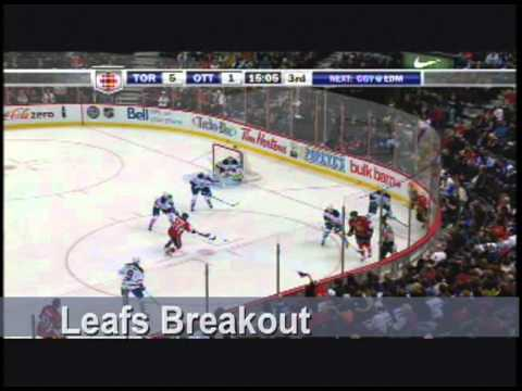 NHL Breakouts from Defensive Zone play
