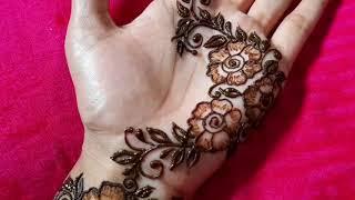 Easy Mehndi Design For Hand 2020 Easy Mehndi design simple stylish arabic mehndi design easy mehndi