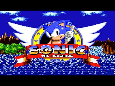 Sonic the Hedgehog (1991) ::: 100% Walkthrough ::: LONGPLAY ᴴᴰ ::: Mega Drive