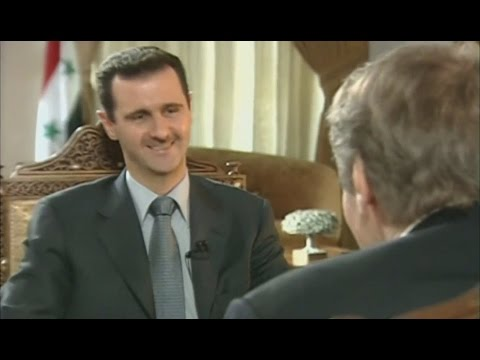 Assad Pre War interview 2006, consistent as ever (60 Minutes)