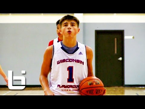 "9th grader Jordan McCabe aka ""Next White Chocolate"" Shows Flashes of Jason Williams' Passing Skills"