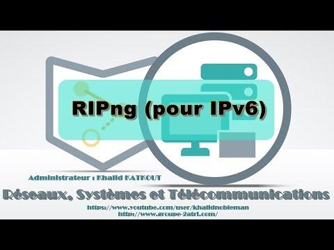 Configuration et vérification du routage RIPng pour IPv6 (KHALID KATKOUT)