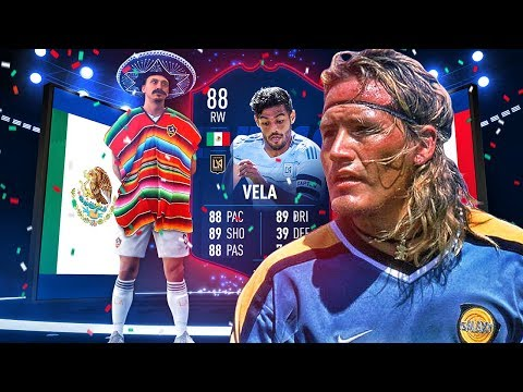 THIS CARD IS INSANE! 88 MLS PLAYER OF THE MONTH VELA PLAYER REVIEW! FIFA 19 Ultimate Team