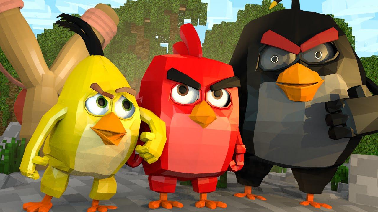 Minecraft | ANGRY BIRDS MOVIE! Angry Birds Mod Showcase! (Pigs, Leonard, Angry  Birds Mod) - Vloggest