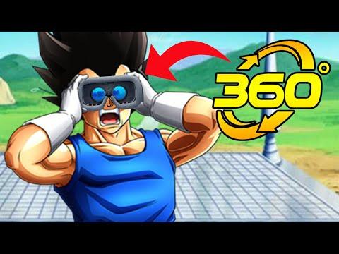 360° VEGETA FIGHT! | Dragon Ball @MANLIKEYOU Random Clips In VR Virtual Reality