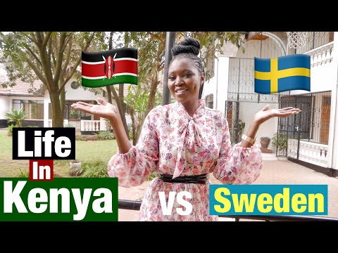 Life In Kenya vs Sweden - The Differences living in Both Countries / Rachel Otieno
