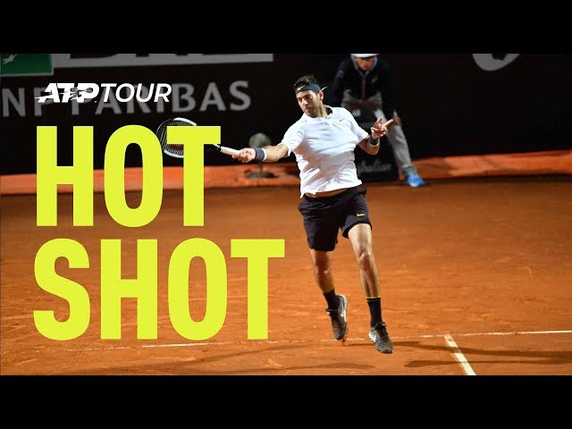 Hot Shot: Delpo Demolishes Down The Line   Rome 2019
