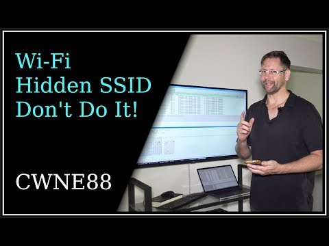 Wi-Fi Hidden SSIDs - Don't Do It!