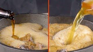 Не выбрасываем подсохшие булочки. Из них получится просто волшебный гарнир!