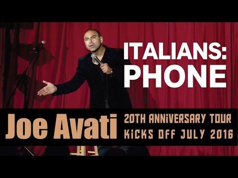 Italians & The Phone | Joe Avati: LIVE (DVD)