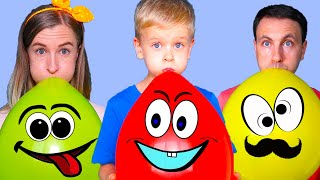 Balloon Song Nursery Rhymes & Kids Songs by Dima Family Show