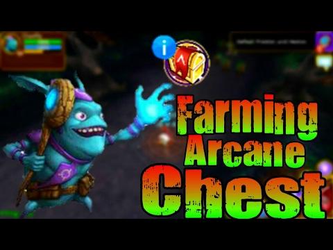 Farming Arcane Chest | Arcane Legends