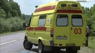 """Вести-Хабаровск. В ДТП на трассе """"Уссури"""" погибло трое туристов"""