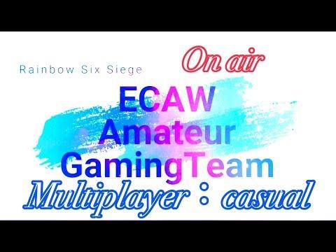 【R6S】(ECAWのメンバーとカジュアル周回)(1080p - 60fps)