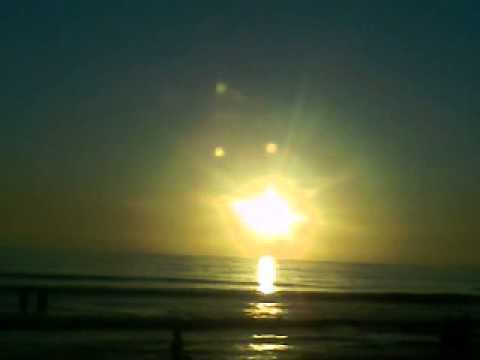 Nibiru visto desde playa hermosa Ensenada