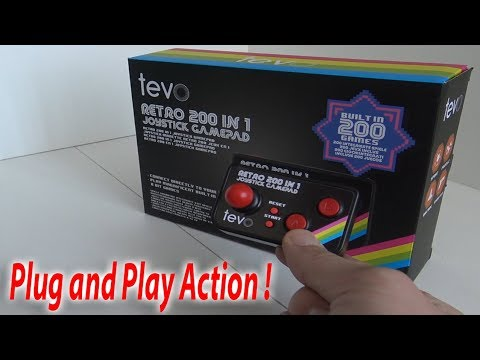 Retro Game Console - Tevo 200 In 1 Plug And Play From Amazon
