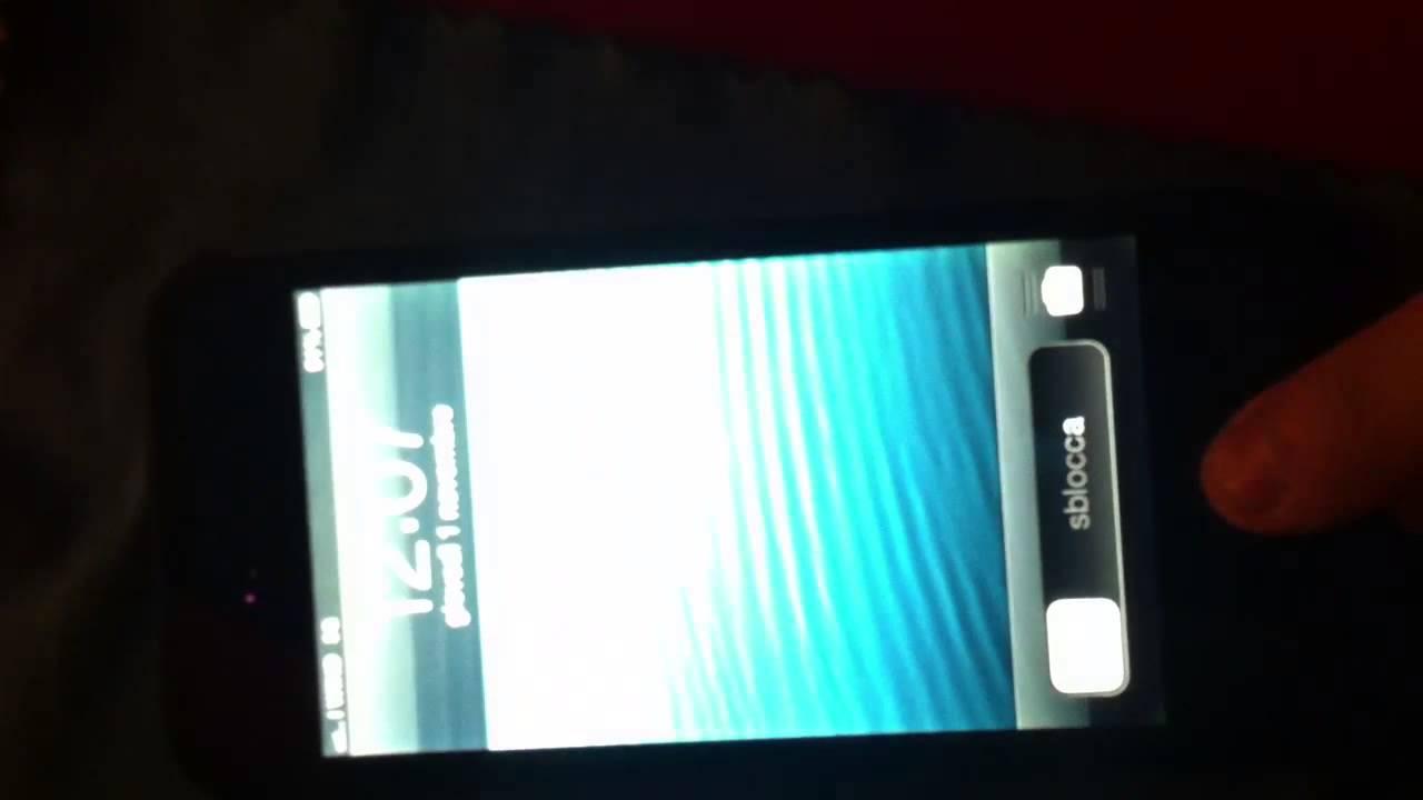Schermo iphone 5 righe orizzontali