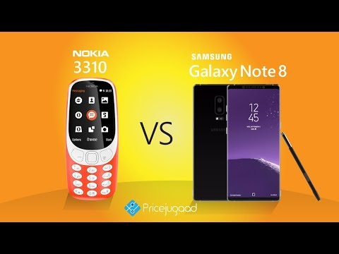 Nokia 3310 Vs Samsung Galaxy Note 8 Specifications | Features | Comparison | Price