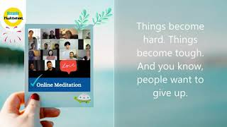 Be patient, persistent and become a master of your mind: Online Meditation Oceania