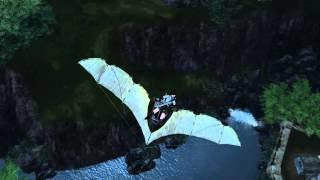 ArcheAge: Meu primeiro salto, mergulho fail, nadando de costas, quase um acidente.