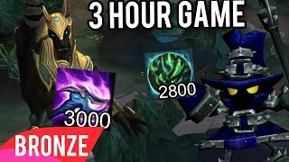 Bronze Players Held Hostage In Ranked By Challengers For 3 Hour Game