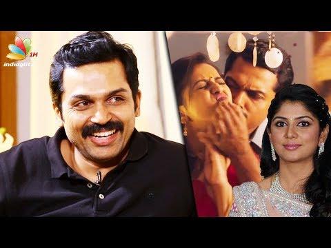 How Karthi's wife Ranjani reacted to his LOVE scenes : Karthik Sivakumar Interview | Theeran
