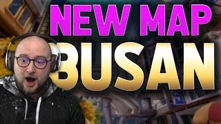 NEW MAP! - Busan Walkthrough (Flank Routes, Objectives, Strategies)