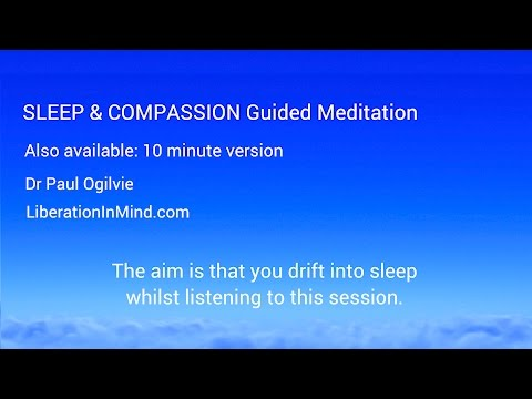 Sleep & Compassion Guided Meditation plus insomnia relief