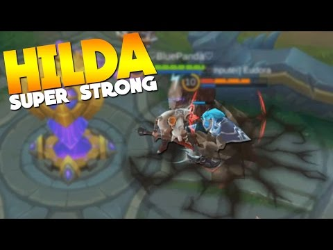 Mobile Legends HILDA GAMEPLAY! +Giveaway