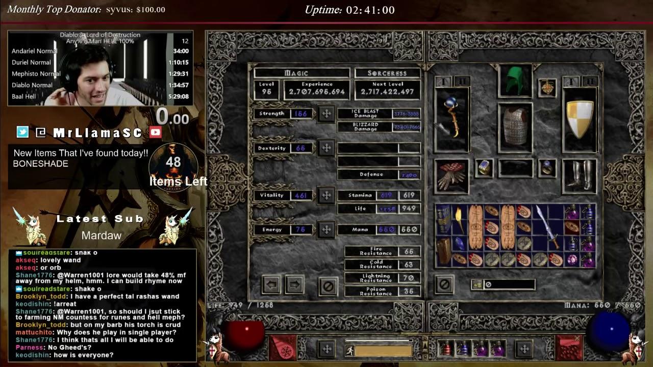 Diablo  Build Sorc