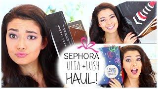 Sephora Lush + ULTA Haul! Thumbnail
