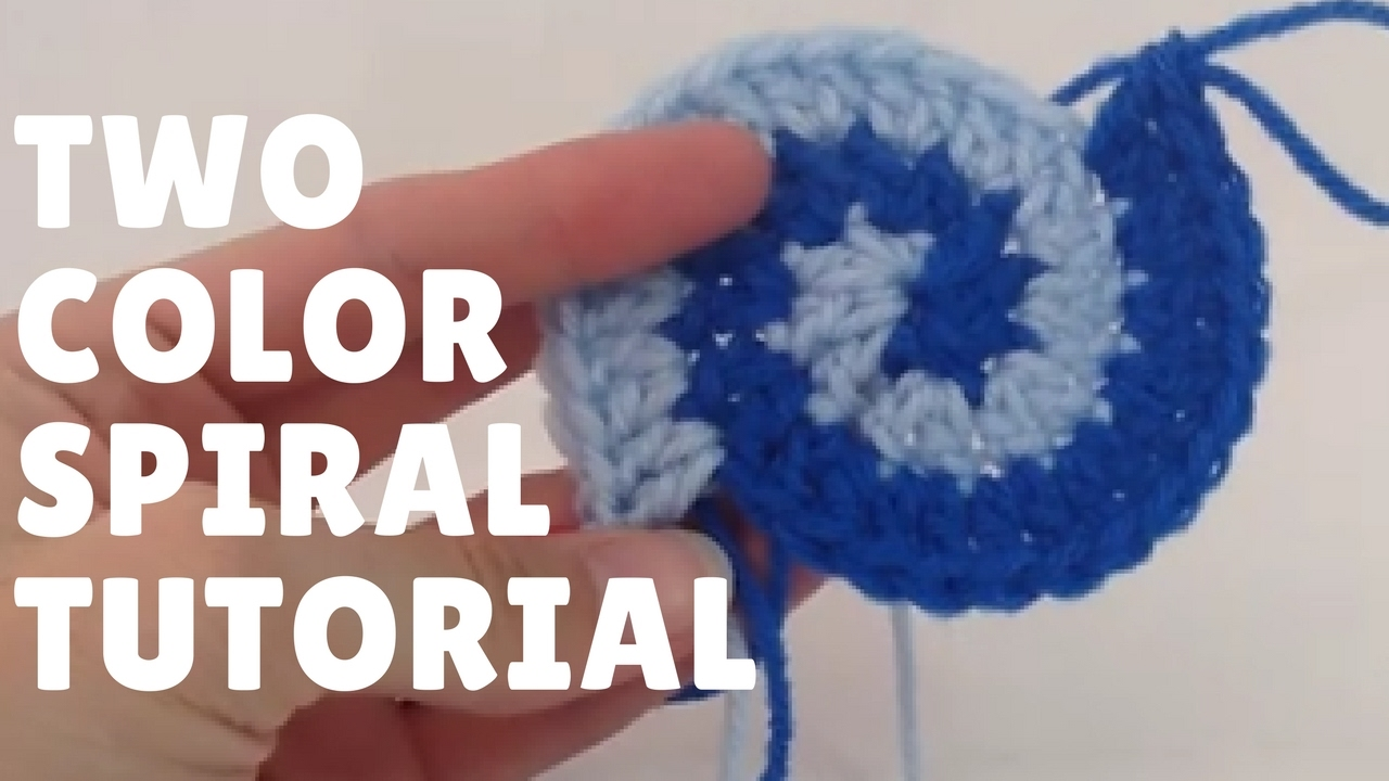 Two color double crochet spiral tutorial youtube two color double crochet spiral tutorial bankloansurffo Images