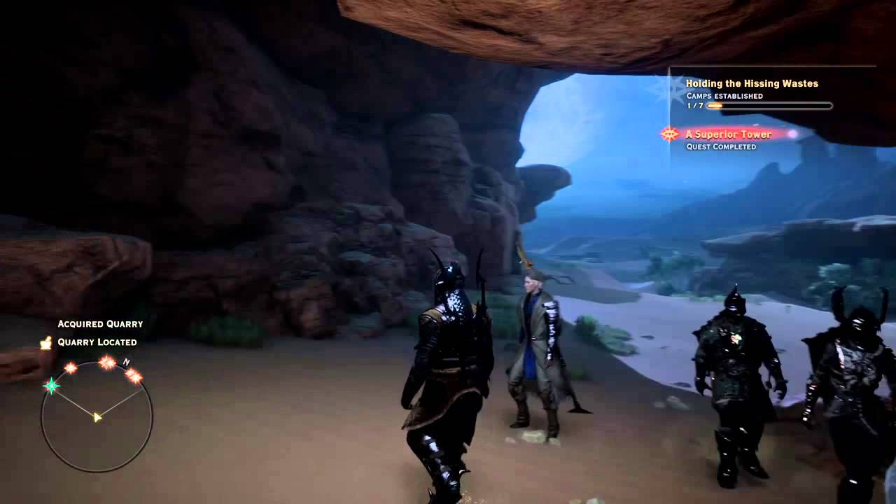 Dragon age inquisition hissing wastes quarry location 1 of 2 youtube