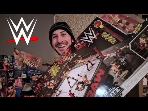🔴 WD LIVE #2 - WWE Mattel Elite Scale Ring UNBOXING, CONSTRUCTION & REVIEW!!!
