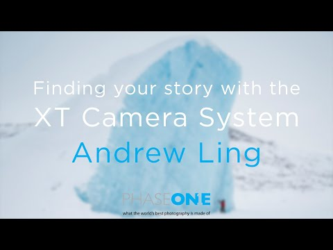 Finding your story with the XT Camera System: Andrew Ling | Phase One