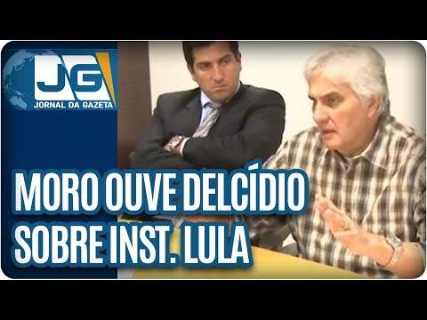 Moro ouve Delcídio sobre Instituto Lula