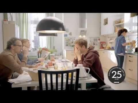 ikea werbung k che 2011 deutschland youtube. Black Bedroom Furniture Sets. Home Design Ideas