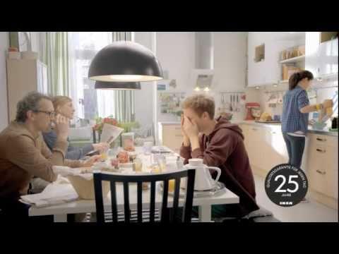 Ikea werbung kuche 2011 deutschland youtube for Glasrückwand küche ikea