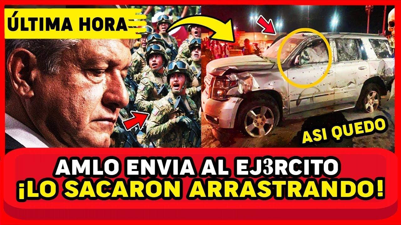TRAGED1A FAT4L MEXICO! AMLO LLAMA DE EMERGENCIA AL EJERC1TO, PASÓ EN TAMAULIPAS HOY. MEXICO EN SH0CK