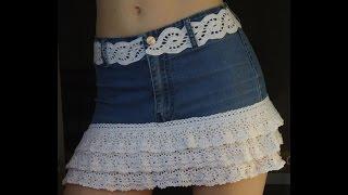 Не выбрасывать а переделать Переделки из джинсов  своими руками
