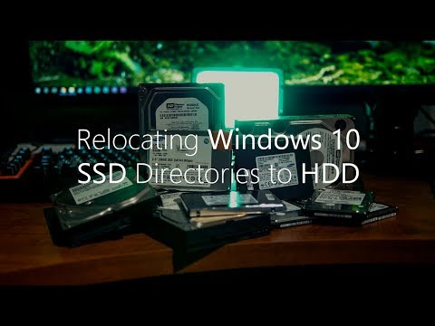 [./bA_Media] How to Reallocate Windows 10 Directories from SSD to HDD