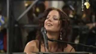 Sarah McLachlan and Josh Groban  -  In The Arms Of  An  Angel  (Live)