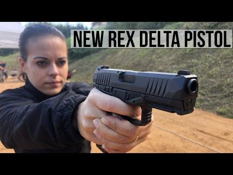Rex Delta   New handgun from Arex
