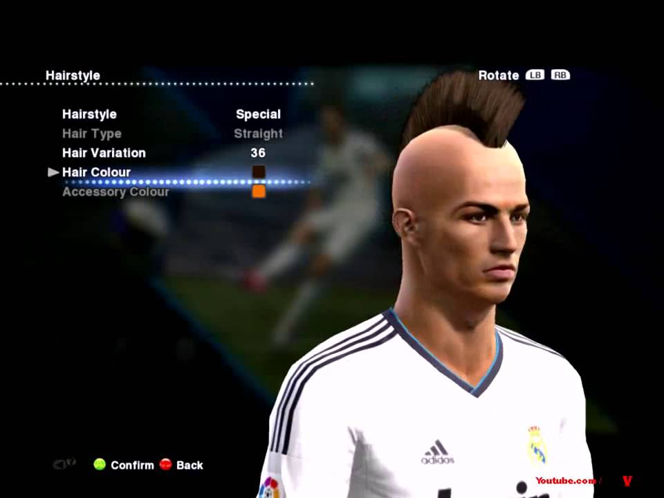 Pes 14cristiano Ronaldo New Hairstyle Special 6 Pes 2013 D