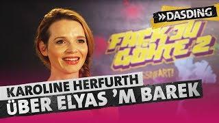 Karoline Herfurth: Elyas M`Barek verarscht mich! | DASDING
