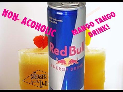 Non-Alcoholic REDBULL Mango TANGO Drink!