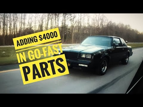 Announcements and Adding $4000 to the $5000 Buick Grand National