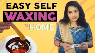 How to WAX at HOME? | Upper Lips | Face | Vasunthara Series